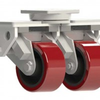 Caster Concepts Shock Absorbing Dual Wheel Casters