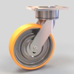 Polyurethane caster by Caster Concepts