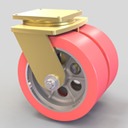 Dual Wheel Casters by Caster Concepts