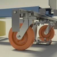 Automated guided vehicle by Conceptual Innovations, a division of Caster Concepts
