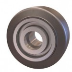 Mold on Rubber Wheel by Caster Concepts