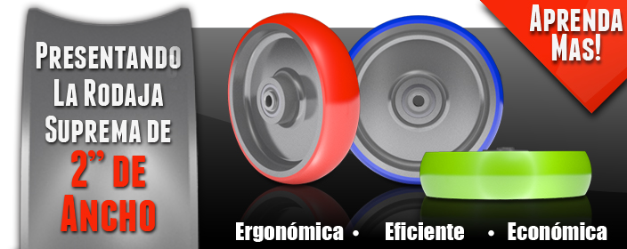 La rodaja suprema, economica, ergonomica, eficiente.