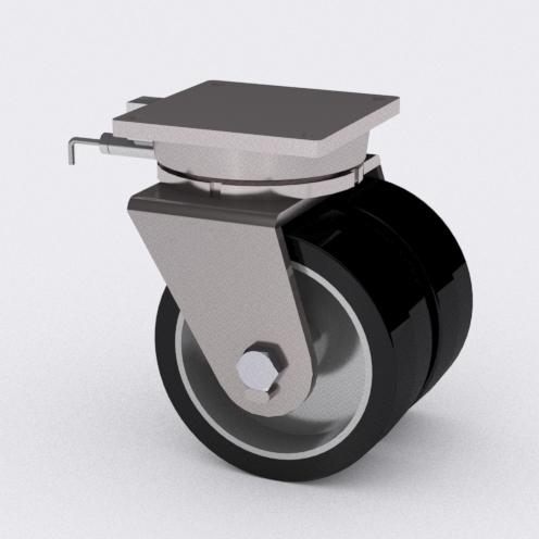 ¿Un Proyecto Grande? Rodajas Más Grandes La Serie 99 de Rodajas de Uso Súper Pesado de Caster Concepts Diseñada para Situaciones y Pesos Extremos