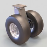 Dual Wheel Pneumatic Casters by Caster Concepts