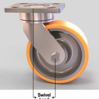 What is a swivel lead?