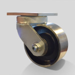 Caster Concepts 61 Series 6x2.5 forged steel wheel swivel caster