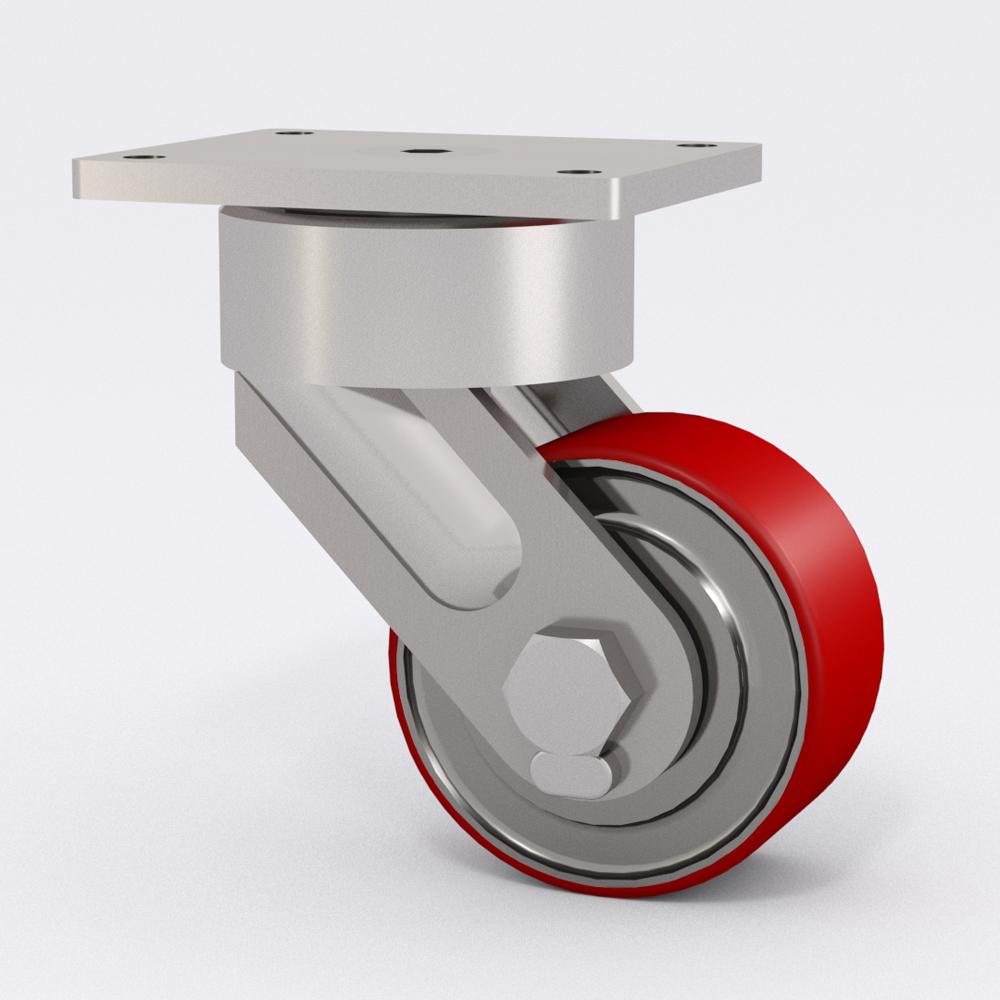 Nuevas Rodajas de Uso Pesado Libres de Mantenimiento Serie 87 para Aplicaciones Industriales