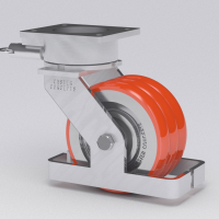 Twergo Casters can carry 25% more weight than traditional casters.
