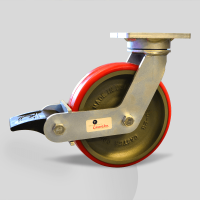 Caster Concepts 55 Series with poly lock brake