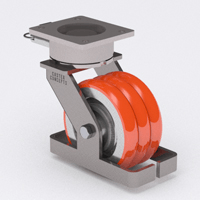 Twergo - Multiple Wheel Ergonomic Caster