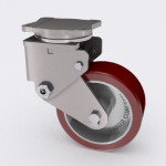 Spring Loaded, Shock Absorbing Heavy Duty Casters