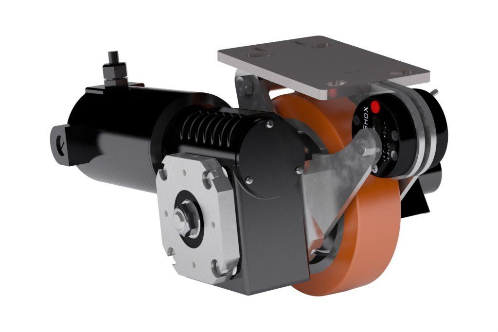 Caster Concepts Desarrolla la Primera Rodaja Industrial  Motorizada