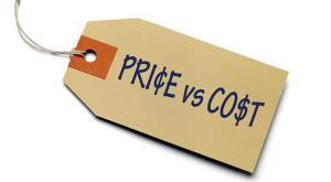 ¿Cuál es la Diferencia Entre Precio y Costo?
