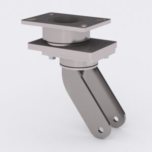 Swivel on Swivel (SoS) Caster