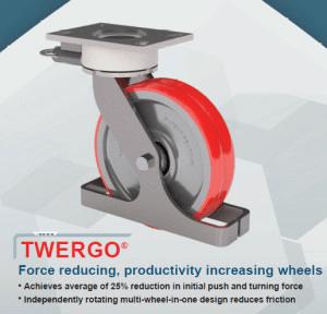 TWERGO®: Rodaja Industrial Héroe para Muchas Aplicaciones
