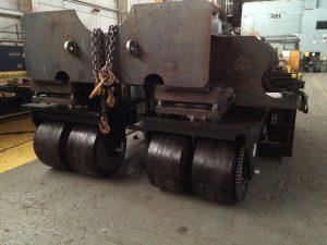 Custom Drive Axle Caster