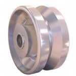 v-groove casters wheels