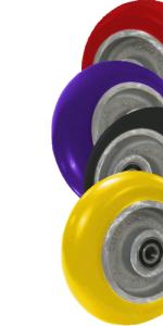 Poly wheel materials