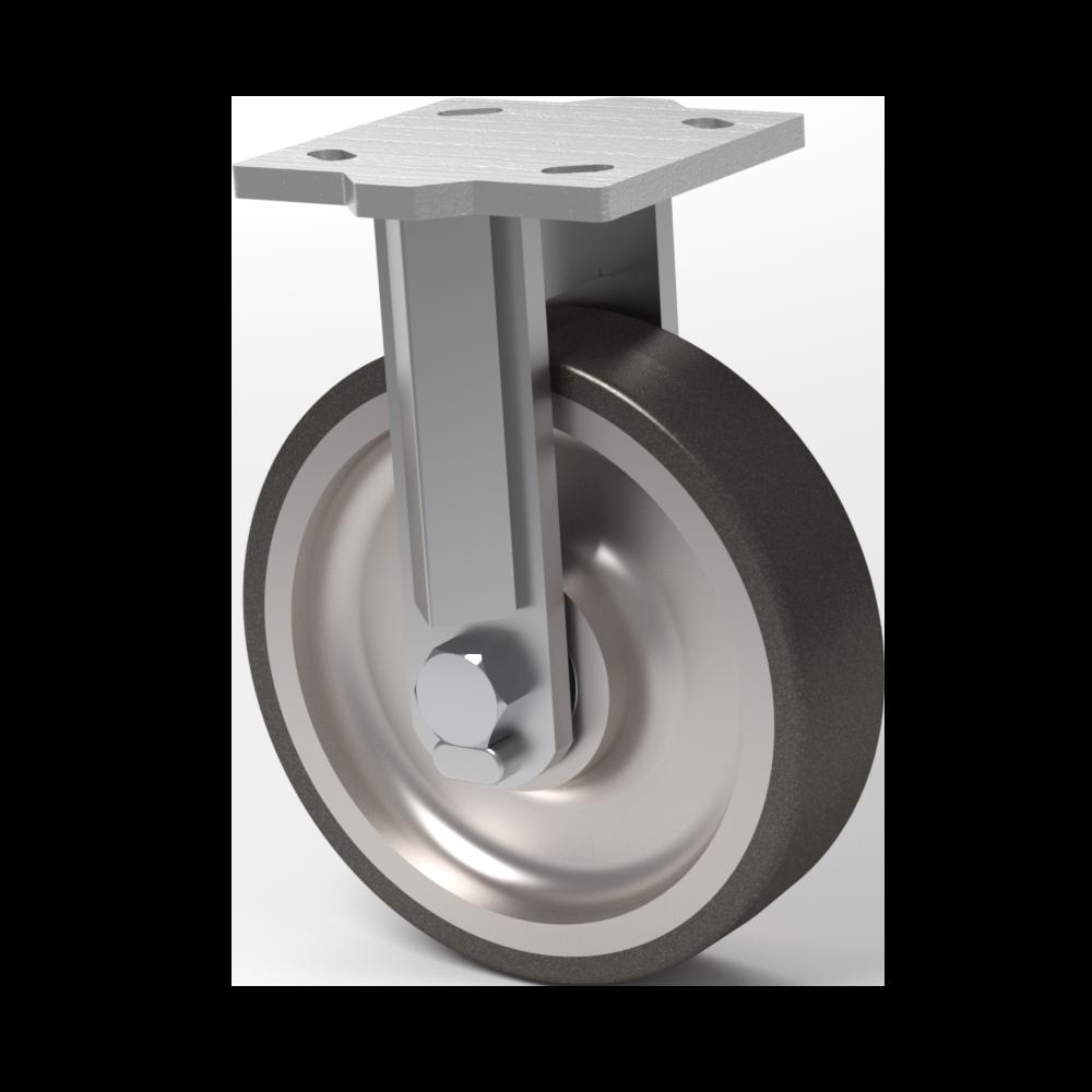 Hercules – 8×2 Poliuretano T/R 95  – 454 Kg. Cap – Fija
