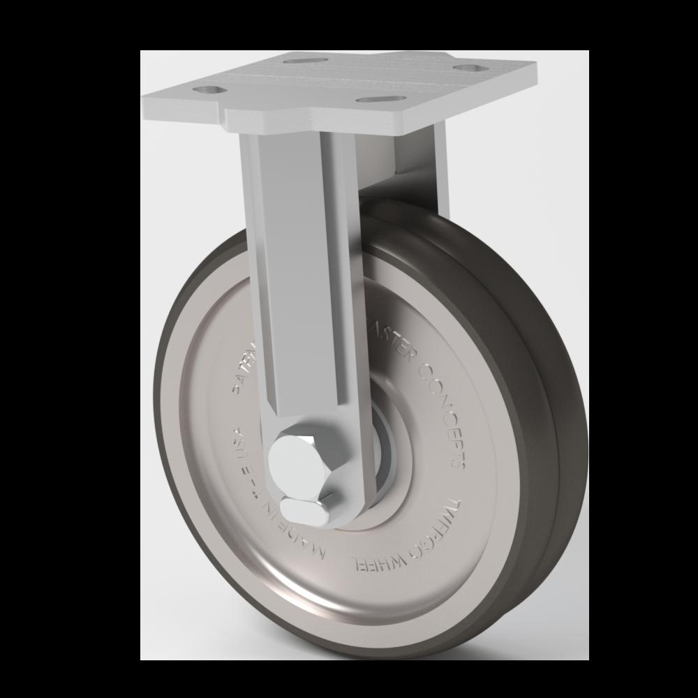 Hercules – TWERGO® 10×2 Poliuretano T/R 95  – 454 Kg. Cap – Fija