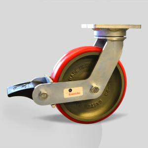Diferentes tipos de Ruedas Utilizadas para Aplicaciones de Rodajas Industriales de Acero de Uso Pesado